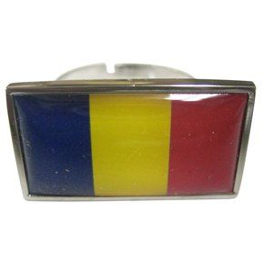 Chad Flag Fashion Ring